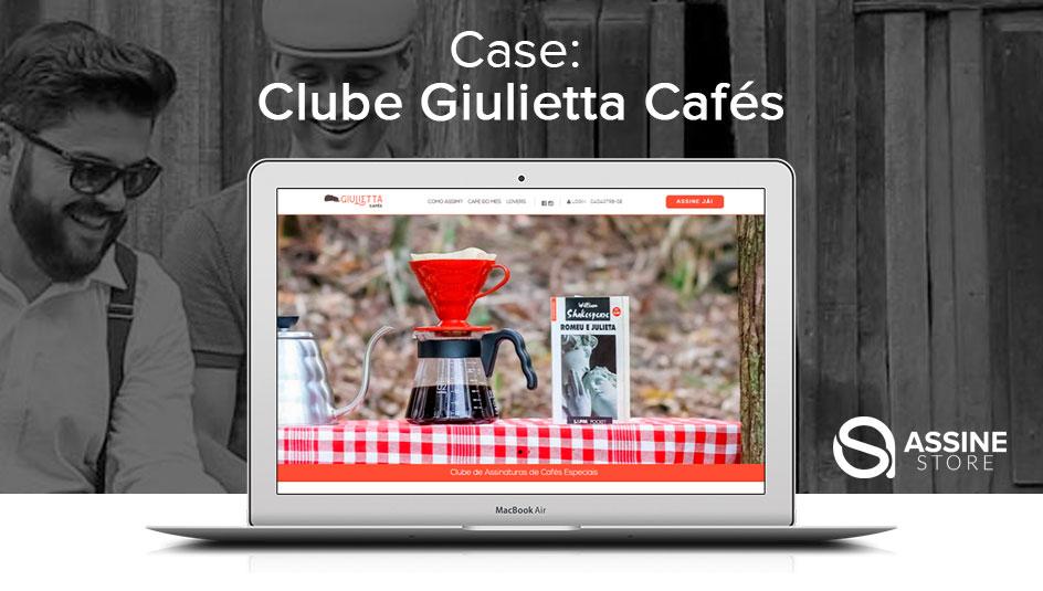 Clube de Assinaturas Giulietta Cafés